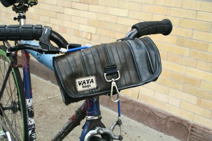 Handlebar Bag Vaya Bags Handmade In Nyc