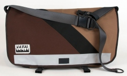 Hit the Town Brown SW Standard Wide Messenger Bag