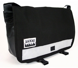Classic Black Medi Messenger Bag