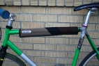 Brown and Black Striped Top Tube Cover