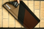 Brown and Black Striped Top Tube Cover Accessory