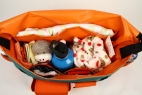 Orange Gradient Diaper Bag - STANDARD Diaper Bag