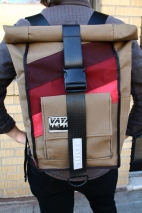 Marsala Rolltop Backpack