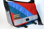 Red & Blue Petite Messenger Bag