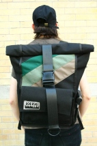 Black Tea Pannier/ Backpack