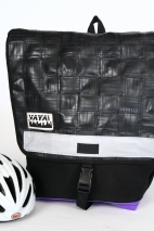 Woven Bike Tube Backpack