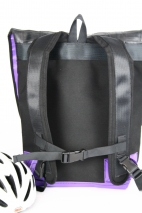 Woven Bike Tube Backpack Backpack