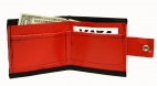 Red Vinyl Wallet Accessory