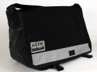 Classic Black SW Standard Wide Messenger Bag