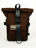 Brown Canvas Pannier
