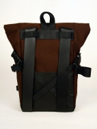 Brown Canvas Pannier Pannier/ Backpack