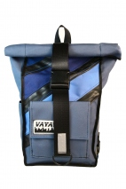 Blue Lagoon Rolltop Backpack