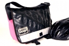 Recycled Bike Tube Petite Messenger Petite Messenger Bag